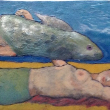 UNDER THE SEA (with a ltitle help from Magritte)