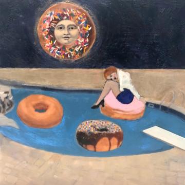 Midnight Donut Tubing