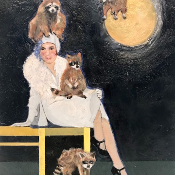 Under the Racoon Moon