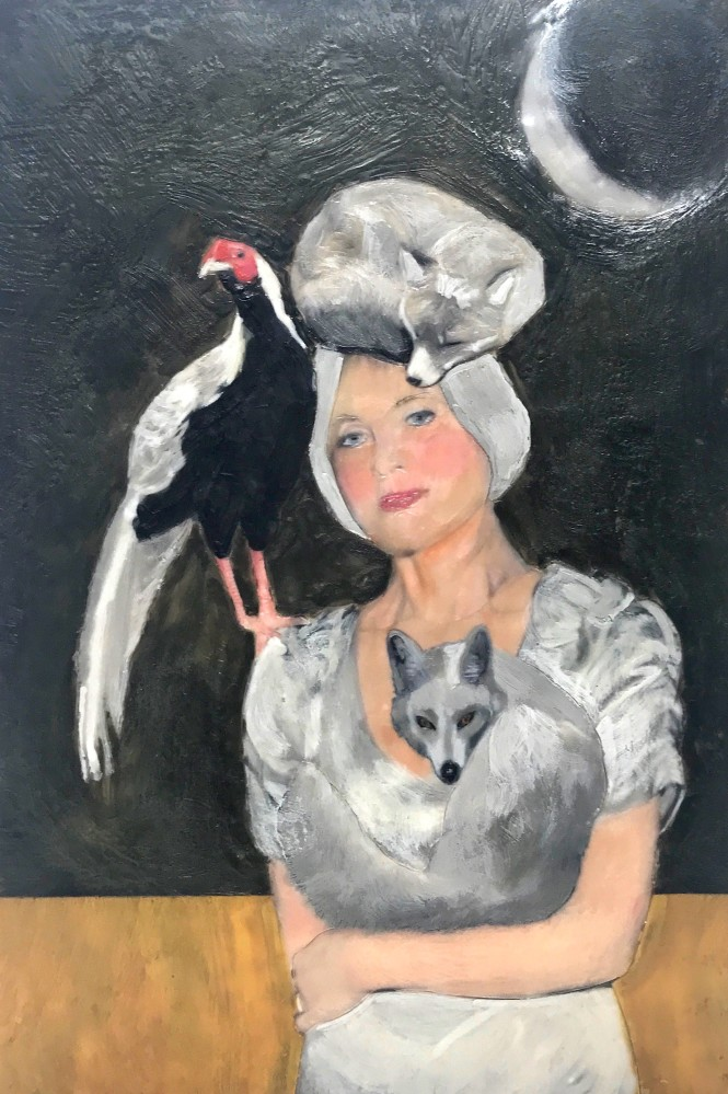 Silver Pheasant and Foxes